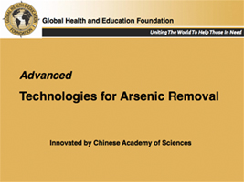 Arsenic Removal Project